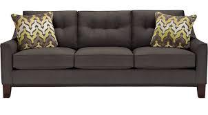 Cindy Crawford Rugs 688 00 Montclair Slate Sofa Classic Contemporary Microfiber