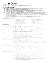 sample professional summary for resume professional mail carrier templates to showcase your talent resume templates mail carrier john doe professional summary