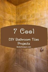 diy bathroom tile ideas diy bathroom tiles home interior design ideas