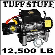 tuff stuff 12 500 lb winch 4x4 ts 12500 b reviews ratings specs