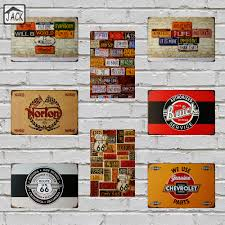 Signs And Plaques Home Decor Compare Prices On Tin Auto Signs Online Shopping Buy Low Price