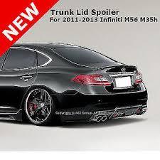 for infiniti m56 m35h 11 abs trunk rear flush deck lip spoiler
