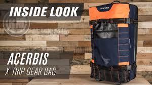 acerbis motocross gear acerbis x trip motocross gear bag inside look youtube