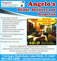 Blinds Shutters And More Sun Sentinel Business Directory Coupons Restaurants