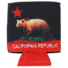 California Flag Horse California Republic Bear Flag Bottle Stopper California Republic