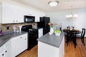 White Kitchen Cabinets Before And After Kitchen Cabinets White Paint U2013 Quicua Com