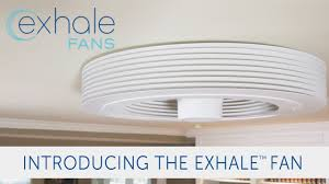 home depot bladeless fan exhale fans launches its bladeless ceiling fan on indiegogo youtube