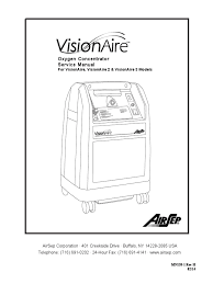 airsep visionaire concentrator service manual vacuum tube
