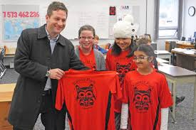 Smithers Interior News Obits Education Minister Visits Smithers Smithers Interior News