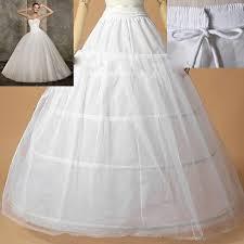 underskirts for wedding dresses hot sale edge 3 hoop petticoat underskirt for gown wedding