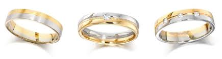 wedding gold rings metal guide