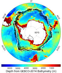 Map Of Ocean Currents Wind Warm Water Revved Up Melting Antarctic Glaciers Nasa