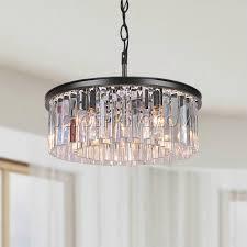 5 light bronze chandelier justina 5 light antique bronze chandelier prisms jpg