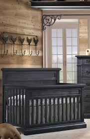 Black Convertible Crib Natart Cortina Convertible Crib Black Chalet N Cribs