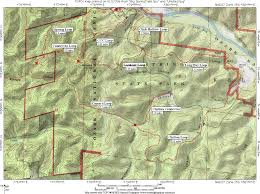 First Landing State Park Trail Map by Ozark Maps Npmaps Com Just Free Maps Period
