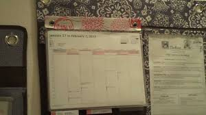 Wall Calendar Organizer Thirtyonehanguporganizers Youtube