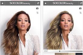 virtual hair colour changer matrix and modiface create next gen hair colour simulator tech