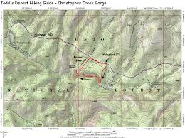 Map Of Chandler Az Swimmingholes Info Arizona Swimming Holes And Springs Rivers