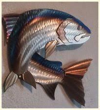 fly fishing bathroom decor metal fish decor ebay
