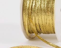 metallic gold ribbon metallic gold ribbon etsy