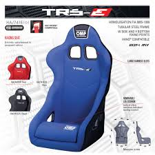 siege baquet omp trs e racing seats omp racing