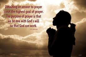 man prayer waits constantly god intercedes