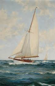 1065 best paintings boats images on pinterest boats sail away
