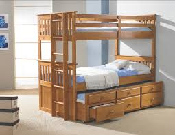 Bunk Beds With Stairs And Trundle Bunk Bed Full Over Full - Wooden bunk bed with trundle