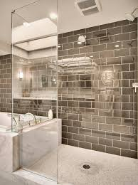 Bathroom With Open Shower Open Shower Bathroom Design Ideas