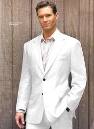 linen clothes for wedding white suits for men of elegance