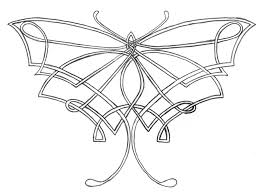 large tribal celtic butterfly design ideas birds butterflies