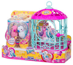 little live pets royal sweethearts love birds with cage ebay