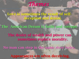 themes and ideas in the great gatsby great gatsby project