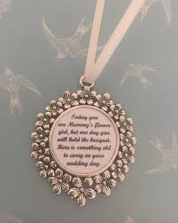 flower girl charms mummy s flower girl something charm save the date by