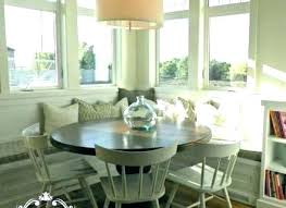 banquette with round table banquette dining table best choice of white bench kitchen table