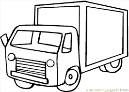 truck coloring 08 coloring free land transport