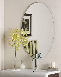 bathroom ideas oil rubbed bronze oval bathroom mirrors with