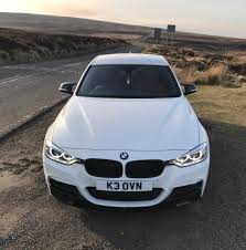 modified bmw 3 series bmw f30 3 series 330d m sport plus full m performance kit quad
