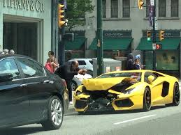 fake lamborghini for sale photos lamborghini totalled in downtown vancouver accident
