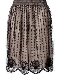 Haus Kaufen Und Verkaufen Valentino Verzierter Jeansrock Damen Bekleidung Röcke Valentino