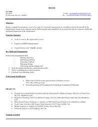 Mba Sample Resume For Freshers Finance by Sample Resume For Preschool Teacher Fresher Templates