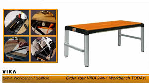 Vika 4in1 Workbench And Scaffold