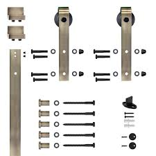 Antique Barn Door Hinges by Prime Line Brass Plated Security Strike Kit U 9989 The Home Depot