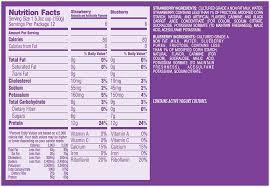 dannon light and fit nutrition dannon light and fit yogurt nutrition www lightneasy net
