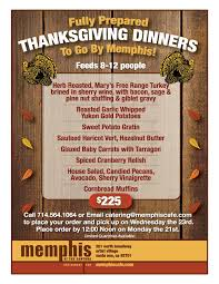 let take care of thanksgiving dinner cafe