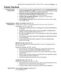 Product Marketing Manager Resume Example by Sales Manager Resume Sample