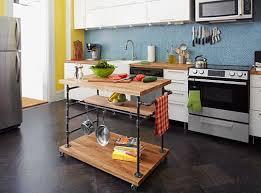 desserte cuisine design plan pour fabriquer un ilot de cuisine cuisine design table