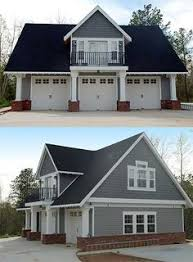 Cottage Style Garage Doors by The Merritt Garage Package From Linwood Homes Has An Added Studio