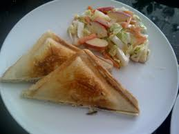 grilled cheese and slaw u2013 nigella express 100 cook books