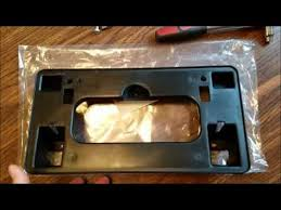 ᐅᐅ 2008 honda accord license plate bracket test top